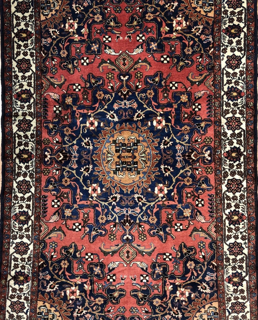 Tremendous Tafresh - 1920s Antique Persian Rug - Malayer Carpet - 4'2