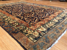 "Load image into Gallery viewer, Marvelous Malayer - 1930s Antique Persian Rug - Tribal Carpet - 4'3"" x 6'6"" ft."