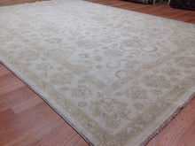 "Load image into Gallery viewer, Charming Choobi - Peshawar Choubi Rug - Chobi Oushak Design - 6'7"" x 9'5"" ft."