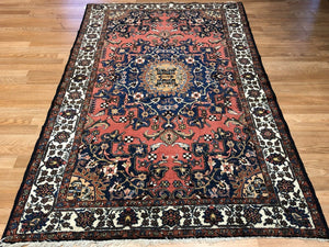 "Tremendous Tafresh - 1920s Antique Persian Rug - Malayer Carpet - 4'2"" x 6'4"" ft."
