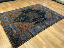 "Load image into Gallery viewer, Amazing Afshar - 1900s Antique Persian Rug - Tribal Carpet - 5' x 6'8"" ft."