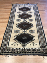 "Load image into Gallery viewer, Gorgeous Gabbeh - 1930s Vintage Ferdous Rug - Nomadic P. Runner - 3'4"" x 6'7"" ft."