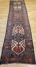 "Load image into Gallery viewer, Marvelous Malayer - 1900s Antique Persian Rug - Tribal Runner 2'10"" x 12'1"" ft."