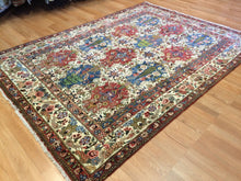 "Load image into Gallery viewer, Beautiful Bakhtiari - 1960s Vintage Persian Rug - Tribal Carpet - 5'8"" x 7'9"" ft."