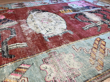 "Load image into Gallery viewer, Sensational Samarkand - 1880s Antique Khotan Rug - Tribal Carpet - 5'3"" x 8'9"" ft."