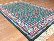 Load image into Gallery viewer, Miraculous Mir - Floral Rug - Green Oriental Indian Carpet - 3' x 5' ft.