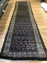 "Load image into Gallery viewer, Tremendous Tribal - 1900s Antique Kurdish Runner - Persian Rug - 3'2"" x 13'4"" ft."