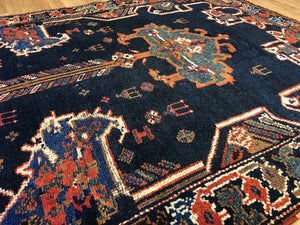 Lovely Lori - 1900s Antique Persian Rug - Tribal Carpet - 4' x 6' ft.