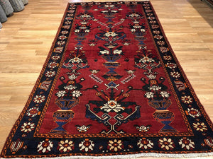 "Marvelous Malayer - 1940s Antique Persian Rug - Tribal Gallery - 5'3"" x 10' ft."