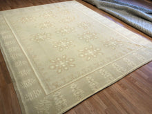 Load image into Gallery viewer, Delightful Dhurrie - Tribal Flatweave Rug - Indian Carpet - 8' x 10' ft