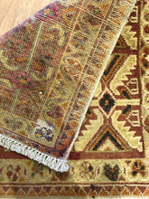 "Load image into Gallery viewer, Tremendous Tekke - 1940s Antique Persian Turkmen - Yamout Rug - 1'9"" x 1'11"" ft."