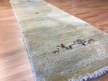 "Load image into Gallery viewer, Gorgeous Gabbeh - 1960s Antique Tribal Rug - Persian Runner - 2'8"" x 9'1"" ft."