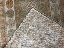 "Load image into Gallery viewer, Opulent Oushak - 1960s Vintage Turkish Rug - Tribal Carpet - 2'5"" x 4'5"" ft."