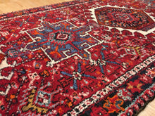 "Load image into Gallery viewer, Handsome Heriz - 1940s Antique Persian Runner - Tribal Rug - 3'2"" x 14'2"" ft."