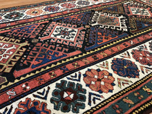 "Load image into Gallery viewer, Tremendous Talish - 1880s Antique Caucasian Rug - Tribal Runner - 3'8"" x 9'3"" ft."