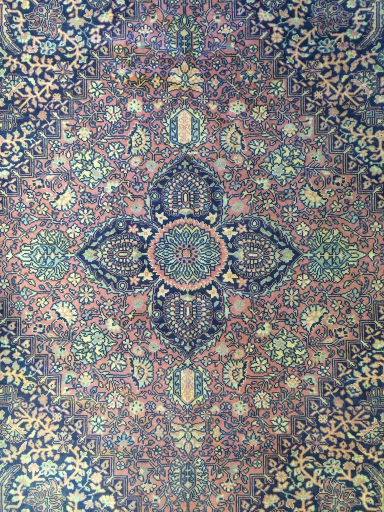 "Marvelous Mohtasham - 1890s Antique Kandehar - Indian Rug 10' x 19'3"" ft."