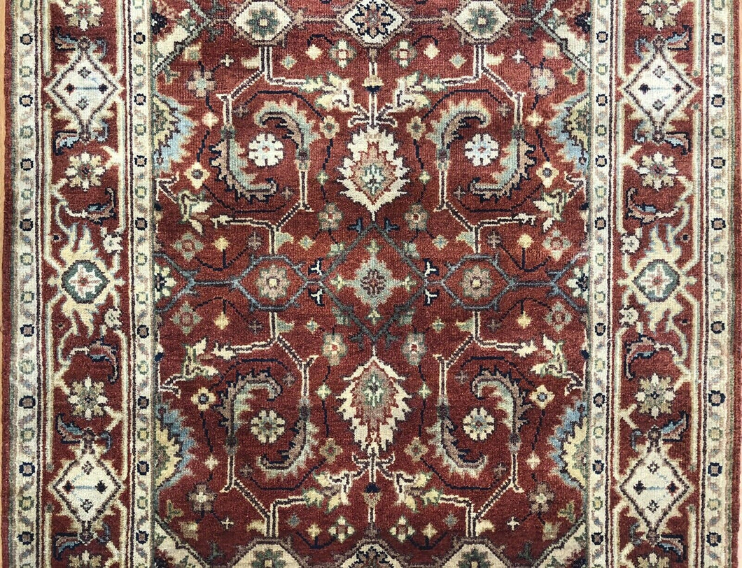 Intricate Indian - Persian Serapi Design - Tribal Rug - 4' x 6'2
