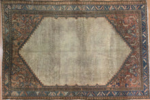 "Load image into Gallery viewer, Captivating Camel Hair - 1900s Antique Kurdish Rug - Persian Carpet 4'6"" x 6'7"" ft."