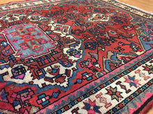 "Load image into Gallery viewer, Beautiful Bakhtiari - 1940s Antique Persian Rug - Tribal Carpet - 3'9"" x 5'7"" ft."