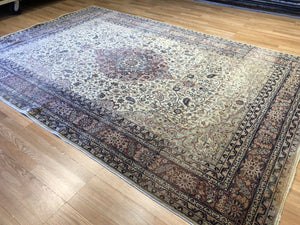 "Spectacular Sivas - 1910s Antique Turkish Rug - Garden of Paradise 6'7"" x 9'10"" ft."