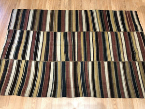 "Jewel Jajim - Fine N.W. Persian Shahsavan Flat-Weave Tribal rug 4'9"" x 7' ft."