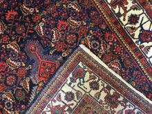 "Load image into Gallery viewer, Marvelous Malayer - 1930s Antique Persian Rug - Tribal Carpet - 4'6"" x 6'9"" ft."