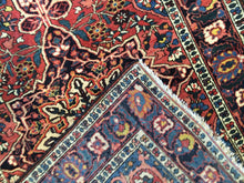 "Load image into Gallery viewer, Beautiful Bakhtiari - 1930s Antique Persian Rug - Tribal Carpet - 4'6"" x 7' ft."