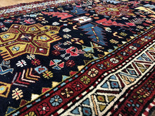 "Load image into Gallery viewer, Perfect Persian - 1930s Antique Kurdish Runner - Camel Hair Rug 3'7"" x 10'4"" ft."