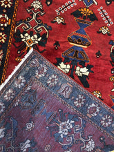 "Load image into Gallery viewer, Marvelous Malayer - 1940s Antique Persian Rug - Tribal Gallery - 5'3"" x 10' ft."