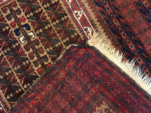 Load image into Gallery viewer, Beautiful Balouch - 1940s Antique Persian Rug - Tribal Carpet - 3' x 5' ft.