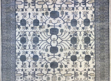 Load image into Gallery viewer, Intricate Indian - Vintage Khotan Rug - Pomegranate Design - 6' x 9' ft.
