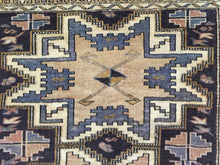 "Load image into Gallery viewer, Selective Shirvan - 1900s Antique Lesghi Star - Tribal Caucasian Rug - 2'9"" x 3'7"" ft."