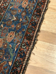 "Amazing Afshar - 1900s Antique Persian Rug - Tribal Carpet - 5' x 6'8"" ft."