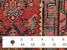 "Load image into Gallery viewer, Beautiful Bijar - 1890s Antique Halvai Rug - Tribal Carpet - 3'9"" x 5'7"" ft."