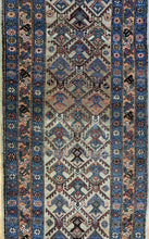 "Load image into Gallery viewer, Charming Camel Hair - 1890s Antique Persian Serab - Tribal Runner - 3' x 7'7"" ft."