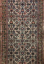 "Load image into Gallery viewer, Handsome Hamadan - 1910s Antique Persian Rug - Tribal Runner - 2'10"" x 6'5"" ft."