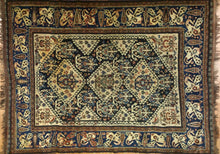 "Load image into Gallery viewer, Special Shiraz - 1880s Antique Persian Rug - Tribal Carpet - 4'8"" x 6'2"" ft."