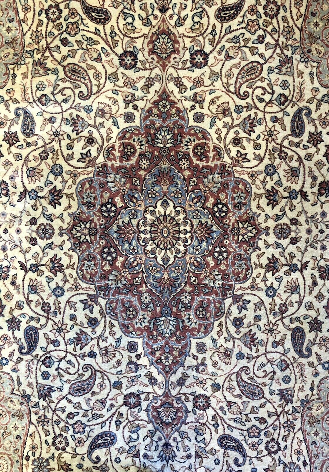 Spectacular Sivas - 1910s Antique Turkish Rug - Garden of Paradise 6'7