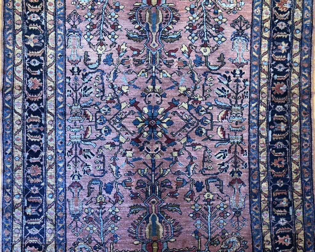 "Lovely Lilihan - 1920s Antique Persian Rug - Tribal Carpet - 5'1"" x 6'4"" ft."