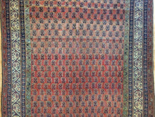 "Load image into Gallery viewer, Spectacular Seraband - 1900s Antique Mir Rug - Tribal Carpet - 6'2"" x 10'9"" ft."