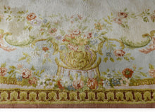 "Load image into Gallery viewer, Sensational Savonnerie - Vintage French Rug - Floral Carpet - 14' x 17'9"" ft."