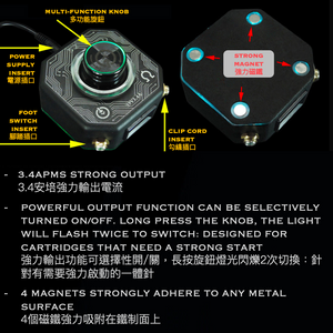 Panther Octagon High-Power Power Box / Panther八角大功率電源盒