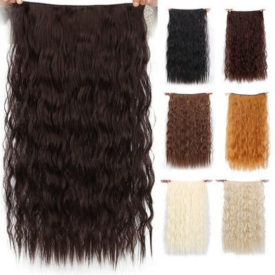 Long Wavy Clip-In Synthetic Hair Extension
