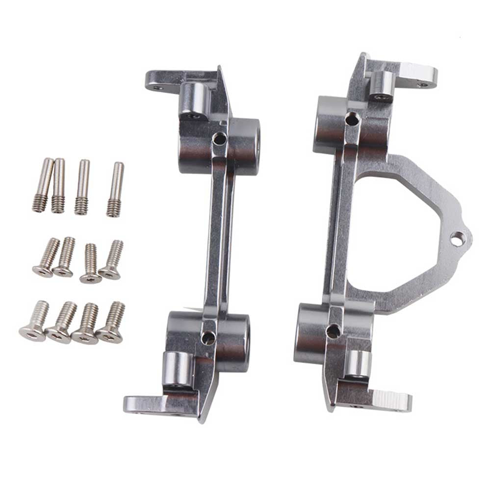 Metal Front & Rear Bumper Bracket for 1/10 Axial SCX10 D90 RC4WD RC Crawler Silver