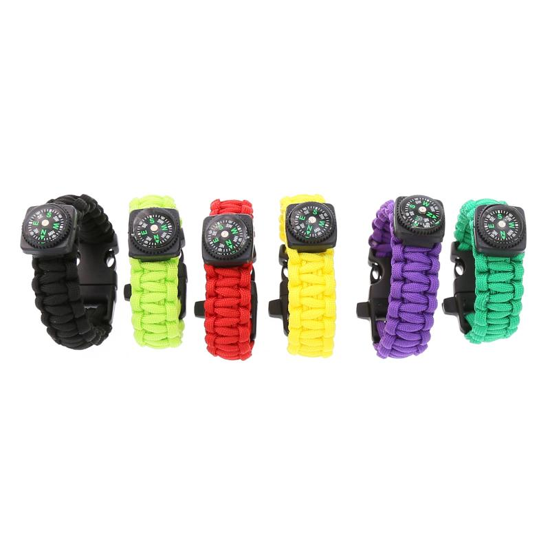 Survival Multi-Function Bracelet Braided Paracord - 4aces Gadets