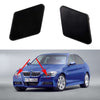 2Pcs Headlight Washer Cover Nozzle Cap for BMW 3 Series Headlamp Cleaning Windshield Cover