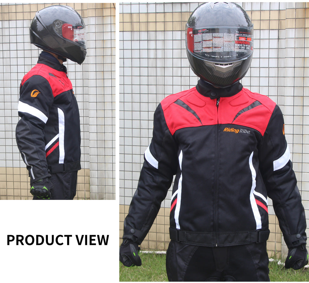 Spring Summer Motorcycle Riding Suit Unisex Riders Racing Clothing Anti-crash Motorcycle Clothing XL