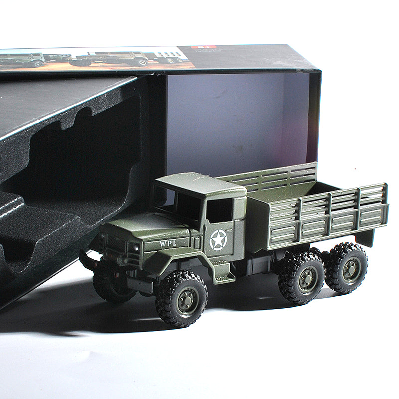 WPL MB16 1/64 6WD High Simulation Vehicles Alloy Car Model for Kids Toys 2020 New Arrival green