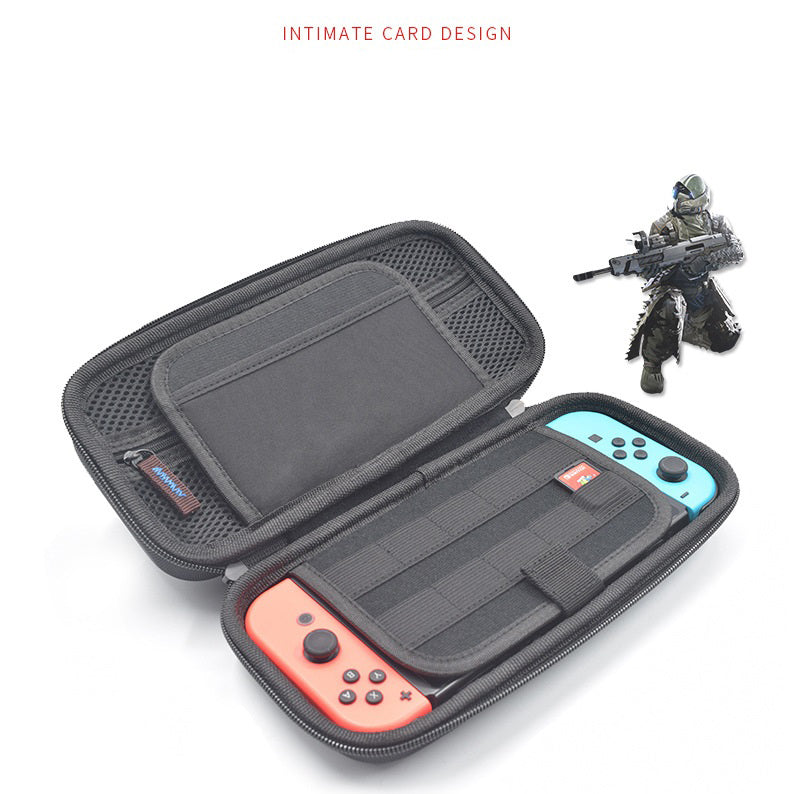Portable Hard Shell Case for Nintend Switch Water-resistent Carrying Storage Bag NS Console Accessories gray