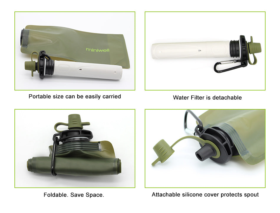 Survival Reusable Water Purification - 4aces Gadets